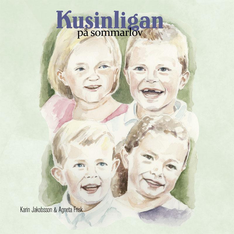 Kusinligan på sommarlov, av Karin Jakobsson